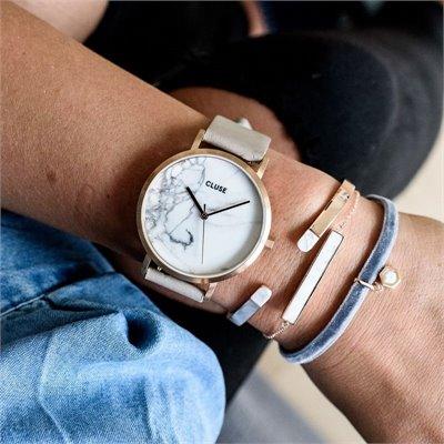 Montre Bracelet Cluse Roche Large Et MarbreOr Gris La D9YIWHE2e