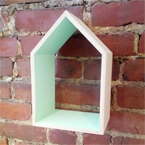 Maison en bois menthe moyenne for Maison moyenne