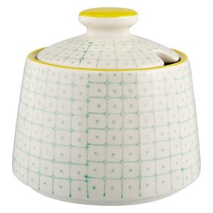 Carla sugar bowl - green