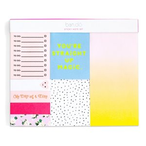 Sticky note set - Straight Up Magic