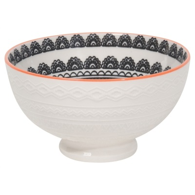 Small embossed bowl - Casablanca