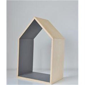 Wooden house - gray (small)