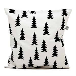 Coussin sapins noirs