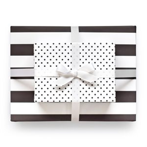Wrapping paper - black and white