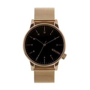 Winston Royale watch - Rose gold and black