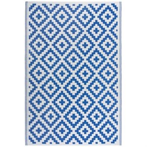 Diamonds outdoor rug