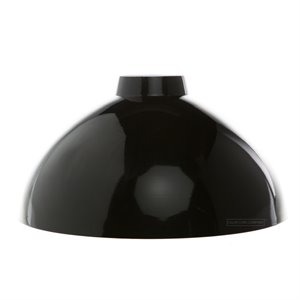 Metal dome shade - Black