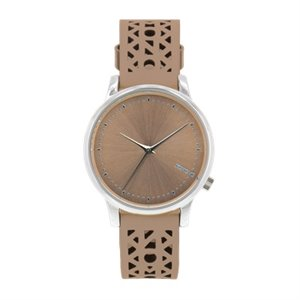 Estelle cutout watch - seashell silver