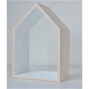 Wooden house - white (medium)
