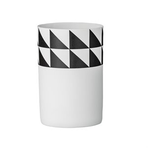 Vase triangles noirs - 2