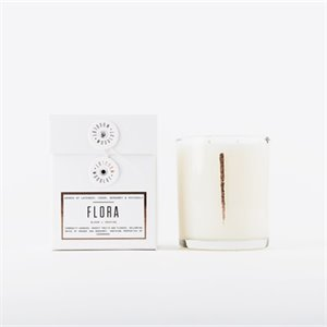 Double stems candle - Flora