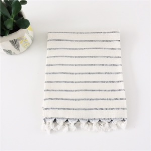 Bamboo hand towel - Stripes