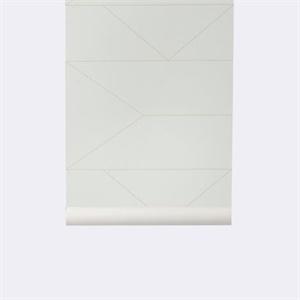 D cors muraux buk nola for Papier peint blanc casse