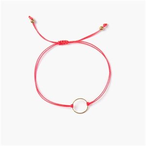Marilou bracelet - silver and pink