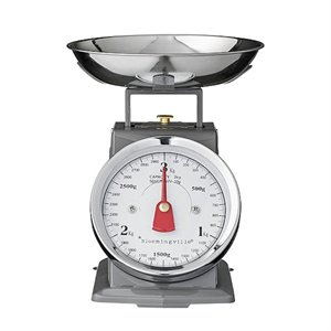 Small kitchen scale - gray