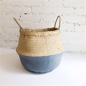 Seagrass basket - gray