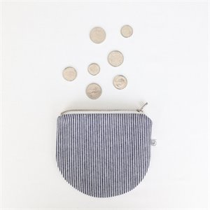 Coin purse - stipes