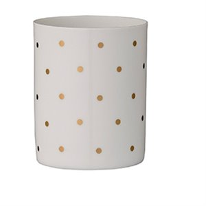 Polka dot Votive - gold