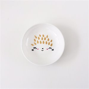 Ceramic ring dish - Hedgehog