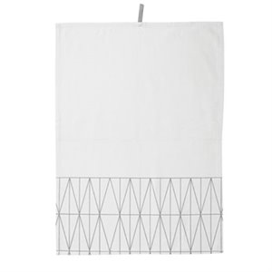 Tea towel - Pale gray