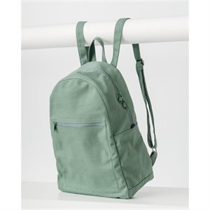 Zip olive backpack