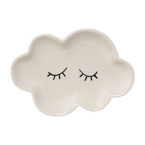 Ceramic cloud plate