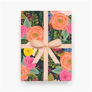 Papier d'emballage Juliet Rose