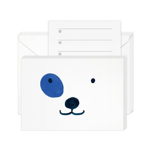 Party invitation cards - Dog