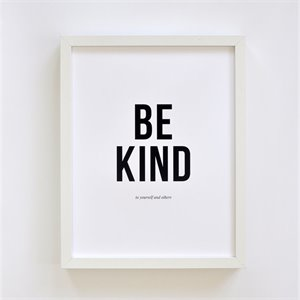 Affiche Be Kind
