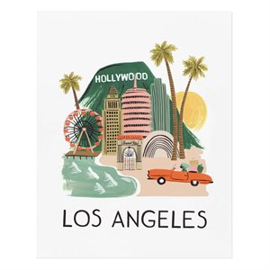 Affiche Los Angeles - Moyenne