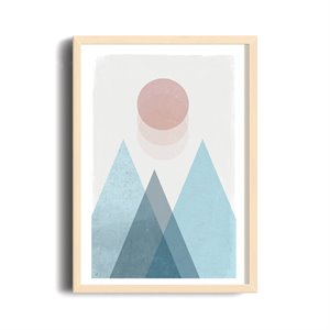 Abstract Poster - Soft landscape