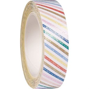 Stripes Glitter Tape