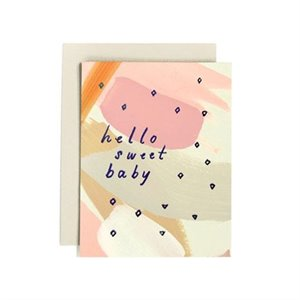 Carte Hello Sweet Baby