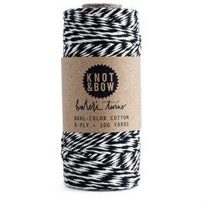 Twine - Black and white