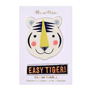 Broderie - Easy tiger