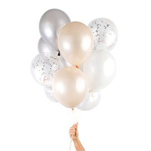 Party Balloons - Blush