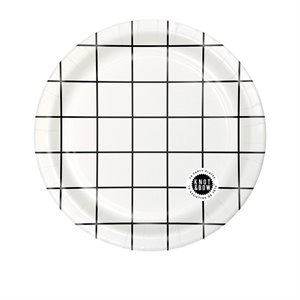 Party plates - grid