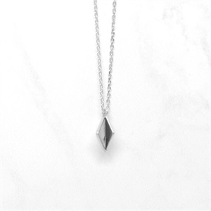 Collier Abby - argent