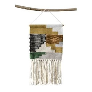 Wall Hanging - Wool & Cotton