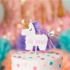 Unicorn Pinata cake topper
