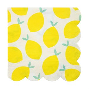 Large Lemon Napkins