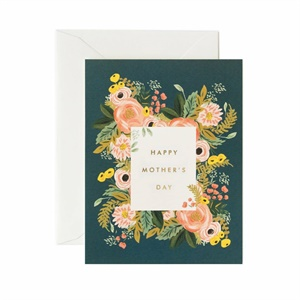 Carte Happy Mother's Day - sarcelle