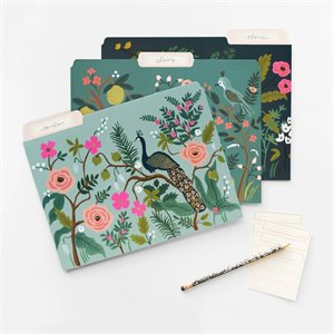 Set of Shanghai garden folders