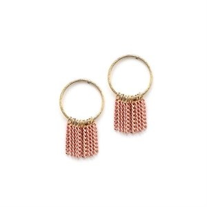 Boucles d'oreilles Olympia - rose