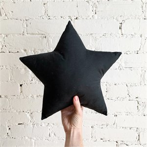 Star pillow - Black