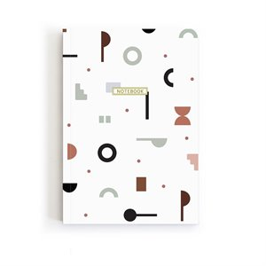 Large notebook - abstract patterns