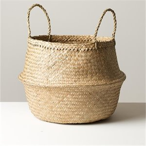Seagrass basket large - natural