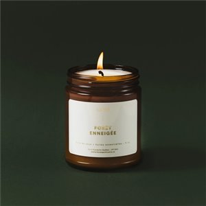 Candle - Snowy forest