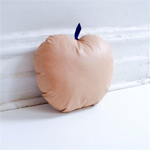 Apple cushion - Terracotta