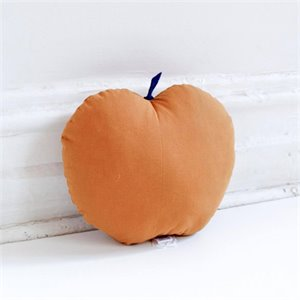 Apple cushion - Ocher
